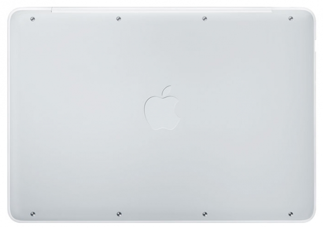 MacBook White Unibody bottom
