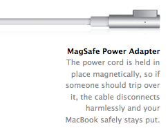 MacBook White Unibody magsafe